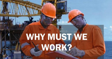 Why must we work?